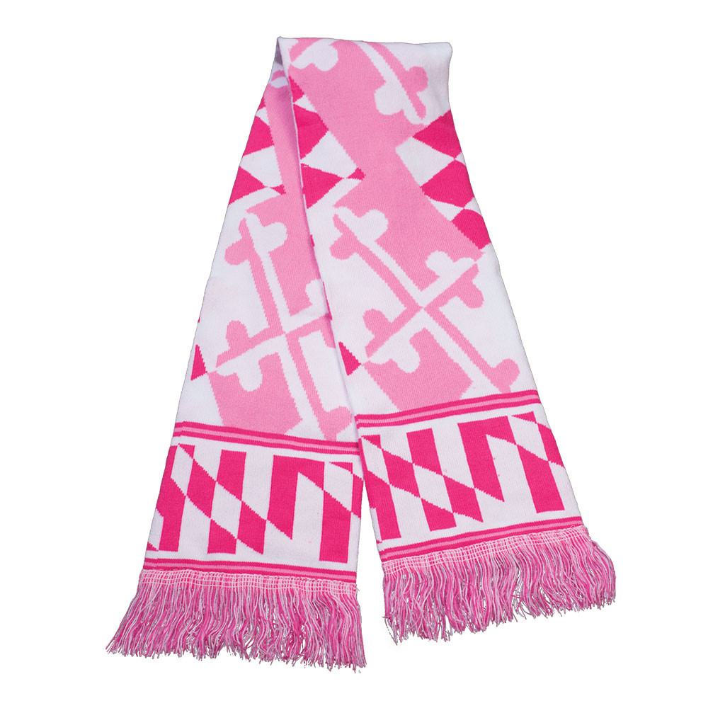 View Of Both Sides Of Scarf