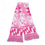 Maryland Pink Knit Scarf