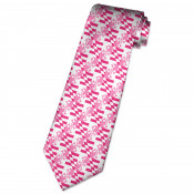 Pink Maryland Flag Neck Tie