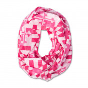 Pink Maryland Flag Infinity Scarf