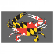 Maryland Fill Crab Floor Mat