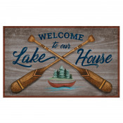 Lake House Floor Mat