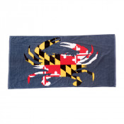 Maryland Flag Crab Beach Towel