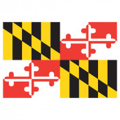Maryland Flag Place Mat