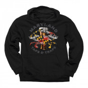 Crabs, Taps & Traps Hoodie