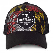 Mesh Flag Patch Hat