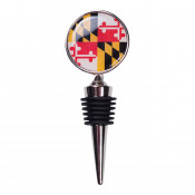 Maryland Flag Wine Stopper
