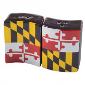 Maryland Flag Salt and Pepper Shakers