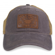 Leather Crab Flag Hat