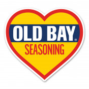 OLD BAY® - Logo Heart Magnet