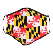 Maryland Flag Repeat Face Mask