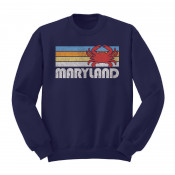 Retro Crab Crew Neck