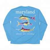 Tie Dye Offshore Performance Long Sleeve