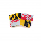 Maryland Flag Visor
