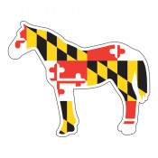 Maryland Horse Sticker