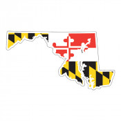 Maryland State Sticker