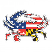 Ameriland Crab Sticker