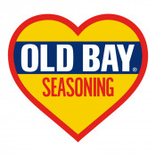 OLD BAY® - Logo Heart Sticker